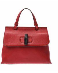 Gucci Tweedehands Handtas - Rood