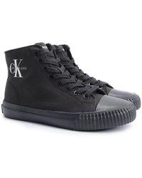 Calvin Klein Sneakersy - Zwart