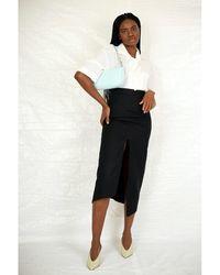 Vivienne Westwood Midi Infinity Skirt Negro