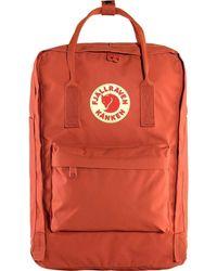 """Fjallraven Laptop Backpack Kanken 15 """" - Rosso"""