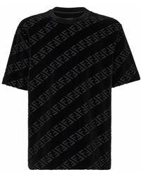 Fendi T-shirt - Zwart