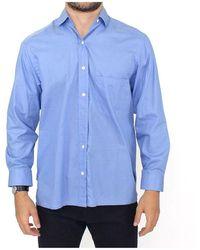 Ermanno Scervino Dress Classic Fit Shirt - Blauw