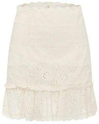 Alice McCALL Angels mini skirt - Blanco