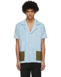 Martin Asbjorn Angel Shirt - Blauw
