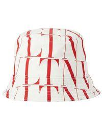 Valentino Valentino Garavani Bucket Hat - Wit