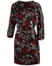 Marella Mida Patterned Dress - Rosso