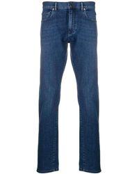 Ermenegildo Zegna 5 Pocket Jeans - Blauw