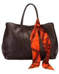 Hermès Usato Garden Party Pm con Zirie - Marrone