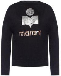 Étoile Isabel Marant T-shirt With Long Sleeves - Zwart