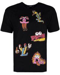 """DOMREBEL T-shirt """"luxury Box T"""" - Zwart"""