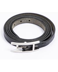 Hermès Tweedehands Behapi Triple Tour-armband - Zwart