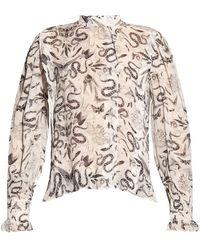 AllSaints Jasmine long-sleeved top - Neutro
