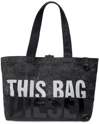 DIESEL - Sac shopping D-Thisbag - Lyst