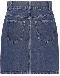 Custommade• Ricka skirt Azul