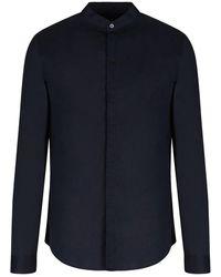 Armani Exchange Shirt - Blauw