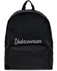 Undercover Backpack with logo - Noir