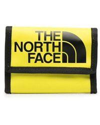 The North Face Portefeuille à logo imprimé - Jaune