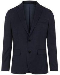 J.Lindeberg Hopper U Legend Wool Blazer - Blauw