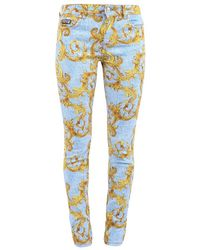 Versace Jeans Couture Denim Jeans - Blauw