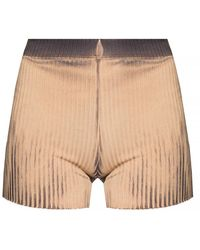 Cotton Citizen Ribbed Shorts - Naturel