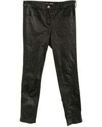 Zanellato Pantaloni di pelle - Nero