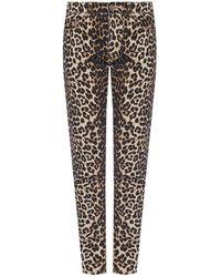 Ganni Patterned Jeans - Bruin