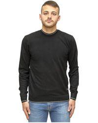 Vila Sweater in stockinette stitch - Schwarz
