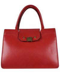 Jimmy Choo Riley handbag - Rouge
