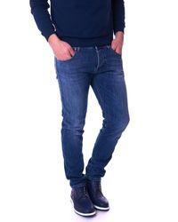 Re-hash Plus Slim Fit Jeans - Blauw