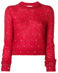 N°21 Crew Neck Sweater - Rood