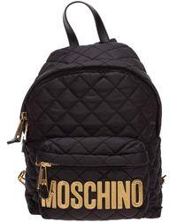 Moschino Women's Rucksack Backpack Travel - Zwart
