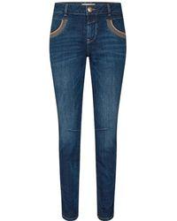 Mos Mosh Naomi Shade Jeans - Blauw