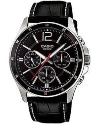 G-Shock Watch Mtp-1374l-1 - Zwart