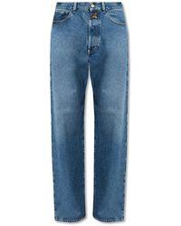 DIESEL Straight-cut jeans - Grau
