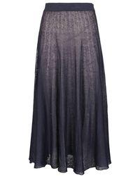 Agnona - Skirt - Lyst