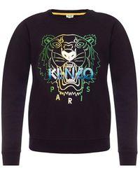 KENZO Tiger Head Sweatshirt - Zwart