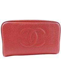 Chanel Vintage Clutch - Rouge