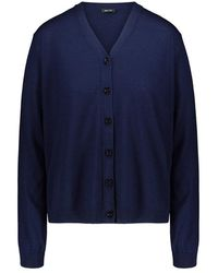 Aspesi Merino wool cardigan - Bleu
