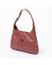 Gucci Punch Hobo Shoulder Bag Rosa