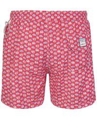 Fedeli - Sea clothing Rojo - Lyst