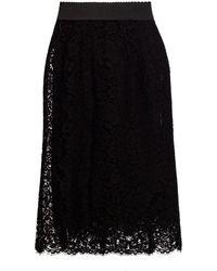 Dolce & Gabbana Lace skirt - Noir