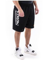 A.P.C. Pantalones cortos de sudor Negro