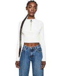 Pepe Jeans Jersey Cropped - Wit