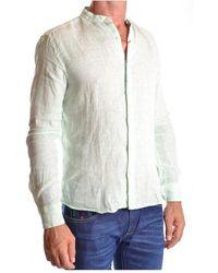 Altea - Shirt Verde - Lyst