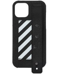 Off-White c/o Virgil Abloh Iphone 12 Pro Max Case - Zwart