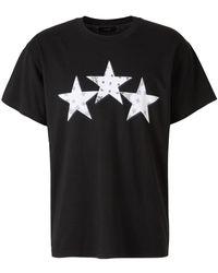 Steve Madden Bandana Stars T-Shirt - Nero