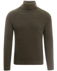 Zanone Sweater - Groen