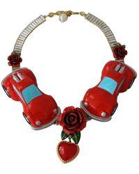 Dolce & Gabbana Statement Necklace - Rood