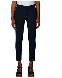 Rrd Pantaloni Modello Capri - 21700-60--44 - Blauw