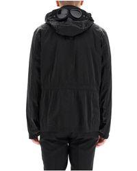 C.P. Company Abrigo con capucha Negro